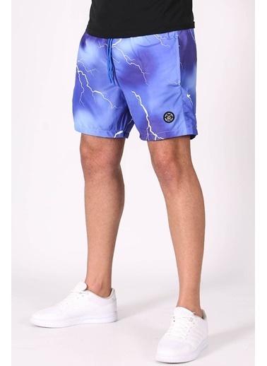 Madmext   Erkek Deniz Şortu 5093 Mavi